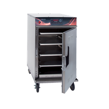 Cres Cor 1000-CH-SS-SPLIT-STK-DE Cook-N-Hold Cabinet, mobile, stacked, radiant, insulated, thermostat (hold): 140F-200F, thermostat (cook):