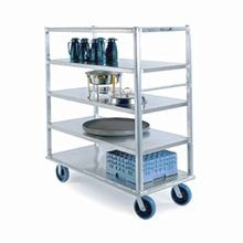 Lakeside 4596 Extreme Duty Queen Mary Banquet Cart, (5) shelf, shelf size 27