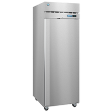 Hoshizaki F1A-FS Steelheart Series Freezer, reach-in, one-section, 23.1 cu. ft., top mounted self-contained refrigeration system, (3) epoxy-coated