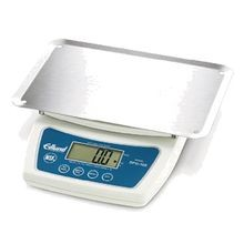 Digital Portion Scale features large LCD Display, stainless steel platform, low battery indicator and automatic shut-off