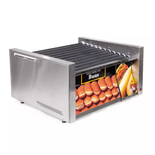 Star 30SCBD Grill-Max Hot Dog Grill, roller-type with integrated bun drawer, stadium seating, Duratec coated non-stick rollers, capacity 30 hot