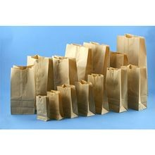 BAG PAPER BROWN 8 POUND 12.4X6.1X4 (500)
