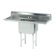 Advance Tabco FC-1-1620-18RL-X Fabricated NSF Sink, 1-compartment, 18