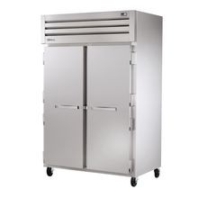 TRUE STR2F-2S SPEC SERIES Freezer, Reach-in, -10F, two-section, stainless steel front & sides, (2) stainless steel doors with locks, cam-lift