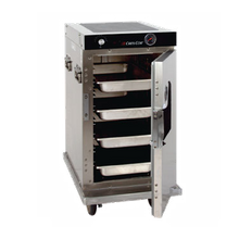 Cres Cor H-339-128-CZ Correctional Cabinet, Mobile Heated, half-height, insulated, lift-out interior, capacity (8) 12