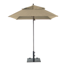 Grosfillex 98660331 Windmaster Umbrella, 6-1/2 ft., square top, 1-1/2