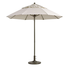 Grosfillex 98842531 Windmaster Umbrella, 9 ft., round top, 1-1/2