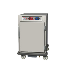 Metro C595-SFS-LPFS C5 9 Series Controlled Humidity Heated Holding & Proofing Cabinet, mobile, half height, pass thru (2) solid doors, lip load