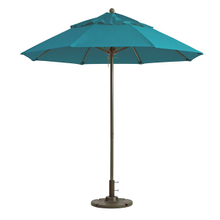 Grosfillex 98824131 Windmaster Umbrella, 9 ft., round top, 1-1/2