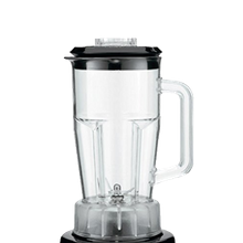 Container, 48 oz. This polycarbonate container is meant for use with item number 01060142, the Margarita Madness Blender.