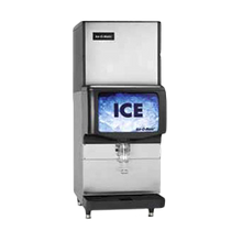 IceOMatic IOD150 Ice Dispenser, counter model, approximately 150 lb storage capacity, lever dispensing, 10-1/2