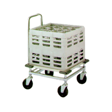 Metro DH2020N Dish Rack Dolly, platform design, single stack, designed for 20