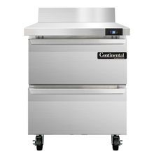 Continental SW27-BS-D Work Top Refrigerator, 27