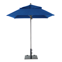 Grosfillex 98669731 Windmaster Umbrella, 6-1/2 ft., square top, 1-1/2
