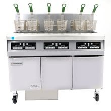 Frymaster FPPH355 Fryer Battery, gas, hi-efficiency, (3) 50 lb. capacity each, built-in filtration, open pot design, automatic melt cycle, boil-out