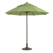 Grosfillex 98842431 Windmaster Umbrella, 9 ft., round top, 1-1/2