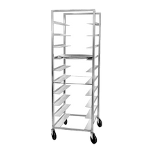 Channel AXD-OT-6 Oval Tray Rack, mobile, full height, single section, 26