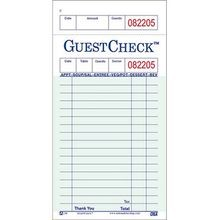 GUEST CHECK ONE PART PAPER 3.5X6.75 17 LINE (100/50)