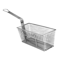 FMP 225-1036 Fry Basket, twin, 13-1/4