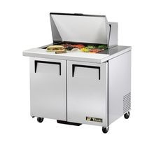 TRUE TSSU-36-12M-B Mega Top Sandwich/Salad Unit, (12) 1/6 size (4