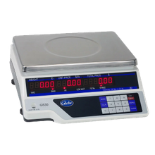 Globe GS-30 Price Computing Scale, Automatic Entry Tare, 30 Lb X .01 Lb. Graduation, Lcd Display, 11-3/4