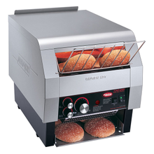Hatco TQ-800H Toast-Qwik Conveyor Toaster, horizontal conveyor, countertop design, all bread types toaster, approximately 14 slice capacity/min