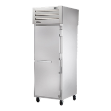 TRUE STA1RPT-1S-1S-HC SPEC SERIES Pass-thru Refrigerator, one-section, stainless steel front & sides, (1) stainless steel door front & rear with