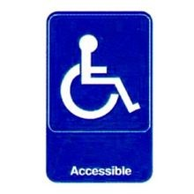 SIGN 6X9 WHEELCHAIR ACCESSIBLE