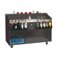 Advance Tabco M-B Marquis Series Portable Bar, with ice bin with drain & shut off valve, 60