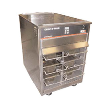Carter-Hoffmann VCNH2W3S Vertical Crisp N Hold Cabinet, fried/crispy food holding cabinet, capacity; heated/circulated air; Capacity: six 1/2 size long x 4