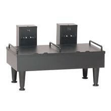 Bunn-O-Matic 27875.0003 Soft Heat Serving Stand, dual, for Soft Heat servers, controlled heat, 4