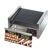 Star 50SCBD Grill-Max Hot Dog Grill, roller-type with integrated bun drawer, stadium seating, Duratec coated non-stick rollers, capacity 50 hot