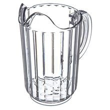 PITCHER PLASTIC 32 OZ CLEAR 6/CS