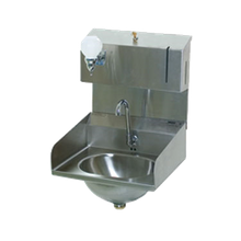 Eagle HSA-10-FDPE-LRS-1X Hand Sink, wall mount, 13-1/2