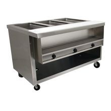 Advance Tabco HDSW-3-240-BS Heavy Duty Sealed Well Hot Food Table, electric, 47-1/8