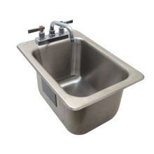Advance Tabco DBS-1-X Bar Sink, drop-in, 12-5/16