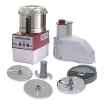 Robot Coupe R2 DICE ULTRA Combination Food Processor, 3 qt. stainless steel bowl with handle, vegetable prep attachment with external ejection