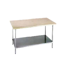 Advance Tabco H2G-304 Maple Top Work Table, 48