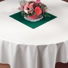 TABLECOVER 82X82 WHITE CATER-CLOTH (24)