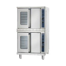 Alto-Shaam 2-ASC-4E/STK Platinum Series Convection Oven, Electric, stacked, standard depth, manual controller, temperature range 100-500 F
