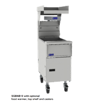 Pitco BNB-SG14 Solstice Bread & Batter Cabinet, with BNB dump station, fryer match design, approximately 15-5/8