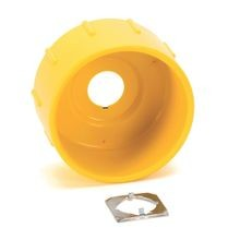 800F Accessories, 800F-A6PR5, Plastic Guard, Yellow Round, 1 Per Package