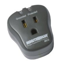 Minuteman® MMS Surge Protected Outlet Strip, 120 VAC, 15 A, 1 Outlets, Wall Mount