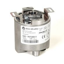 842E EtherNet/IP Multi-Turn Encoders, Multi-turn (4096 turns), Hollow shaft 1/2 in, M12 connector, 262,144 (18 bit) steps per revolution