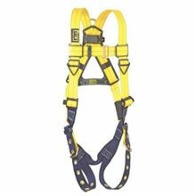 3M DBI-SALA Fall Protection 1102000 Delta™ Multi-Purpose Unisex Full Body Harness, 420 lb, Blue/Yellow, Polyester Strap