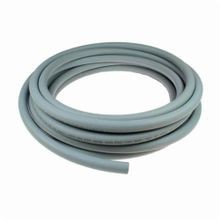Coilhose® L12RM100N Lock-On Straight Air Hose, 1/2 in, 100 ft L, 300 psi at 70 deg F, Rubber, Domestic