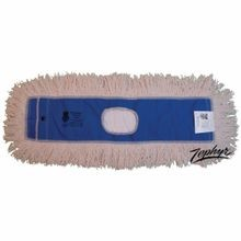 Zephyr® Pro-Twist™ 12505 Dust Mop Head, 48 in L x 5 in W, Cotton, Natural