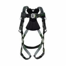 Miller® by Honeywell RPY-QC-BDP/UGN Revolution™ Standard Unisex Harness, L/XL, 400 lb, Black, Python Strap