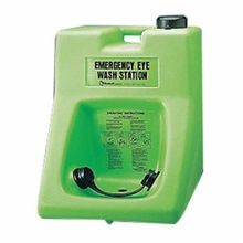 Honeywell Safety 32-000200-0000 Porta Stream® II Portable Eyewash Station, 2 Heads, 24 in H x 19-3/4 in W x 19 in D, Cart/Wall Mount