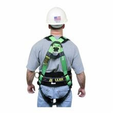 Miller® by Honeywell HP Non-Stretch Harness, L, 400 lb, Green, Polyester Strap